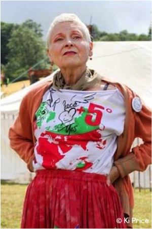 Vivienne Westwood, DBE    Fashion Designer & Environmental Activist   climaterevolution.co.uk