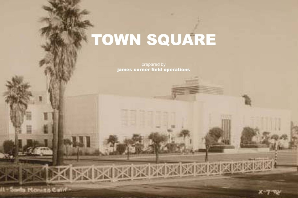 This photo shows what Santa Monica City Hall once looked like