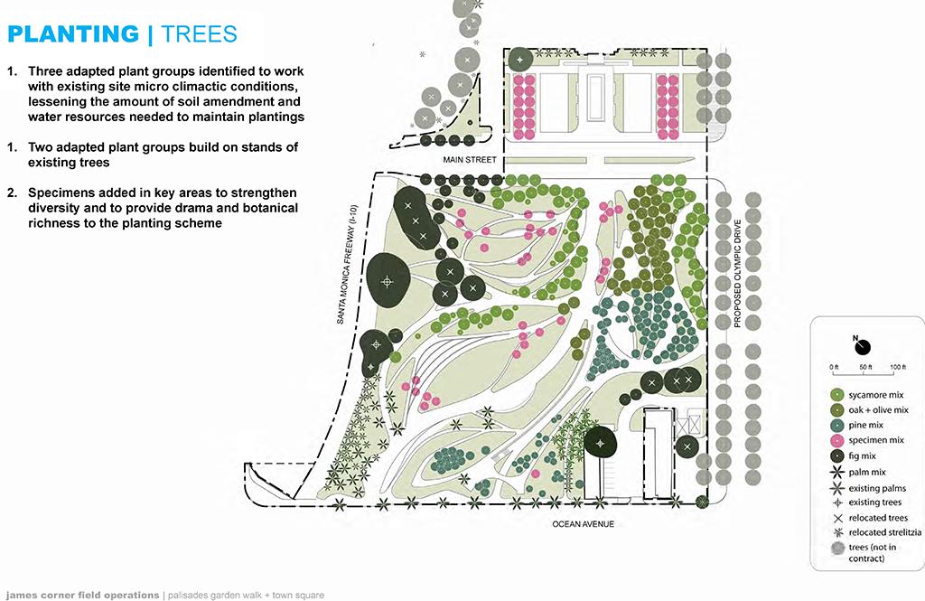 Plant Palette Tongva Park Ken Genser Square