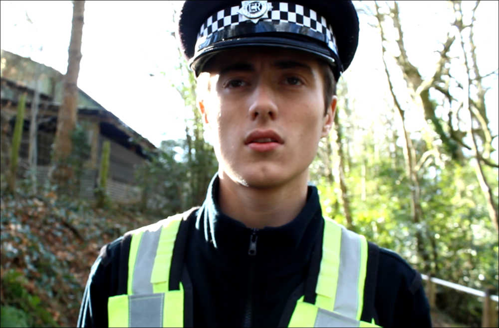 Robert as a policeman.PNG
