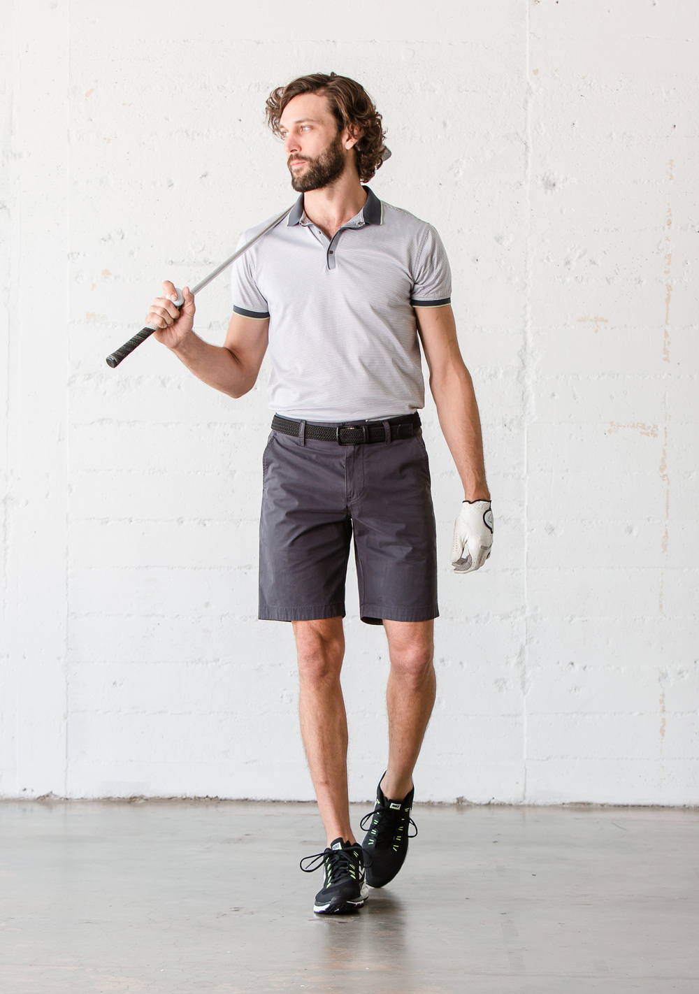 Halsey44 _SF1016S_Cutter_Classic Fit Short_Santa Fe Stretch_Raven_.jpg