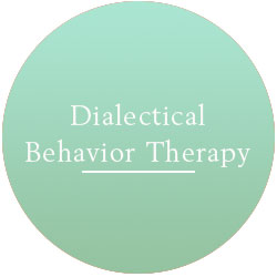 Originally created for clients diagnosed with Borderline Personality Disorder, I have found DBT to be useful for a much wider range of people.  The goal is to replace ineffective behaviors with those that are more healthy.  A huge piece of DBT is emotional regulation.  Used in conjunction with mindfulness and acceptance, DBT can help clients understand what triggers specific emotions and how to better handle them.