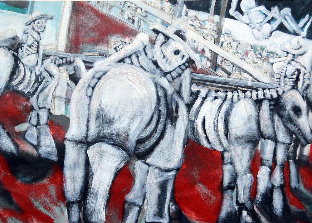 SITE 16 - El Hombre Esqueleto - Greg Swain & Friends