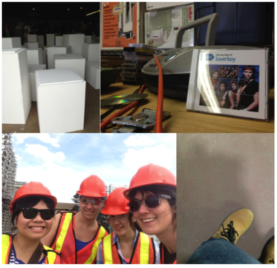 Plinths, Loverboy, Hard hats, and Steel toes: #Summer2013