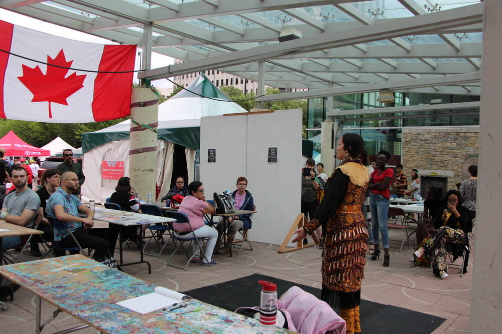 Canada Day Roving Artist in Residence - Poetry