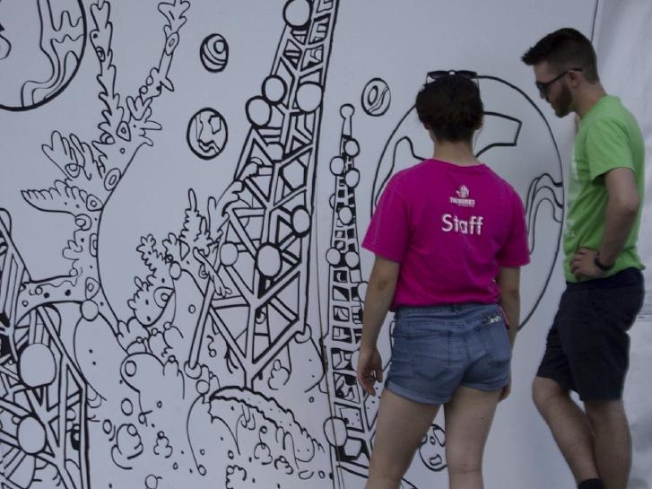 The Works Art & Design Festival, 2018. Photo by Selen Erkut.