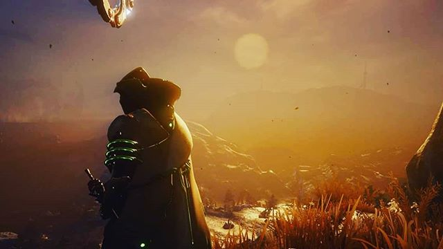 Sunset over the plains . . . . #warframe #gaming #videogames