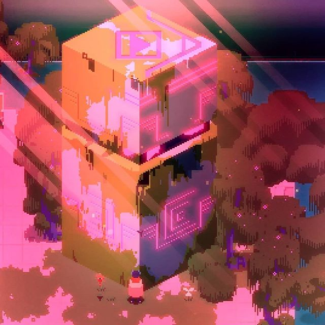 #hyperlightdrifter remains one of my favorite games of all time. The style and tone are so incredibly well realized! . . . . . #gaming #videogames #indiegame #screenshot