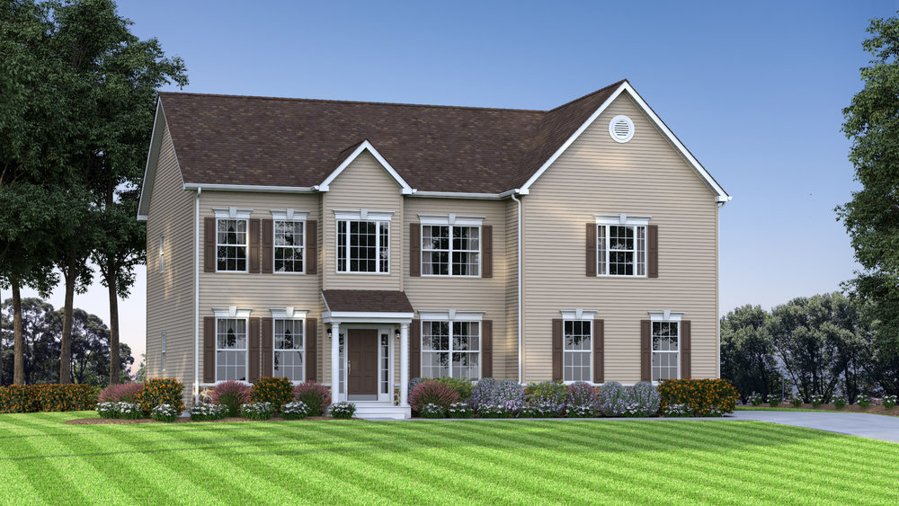 The Charleston 2,700 sf / 4 br / 2.5 ba / 2 car garage Starting at $339,990