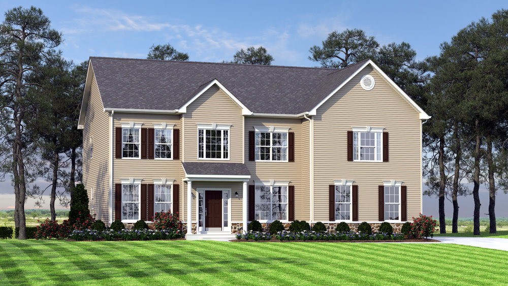 The Charleston Grand  3,000 sf / 4 br / 2.5 ba / 2 car garage Starting at $369,990