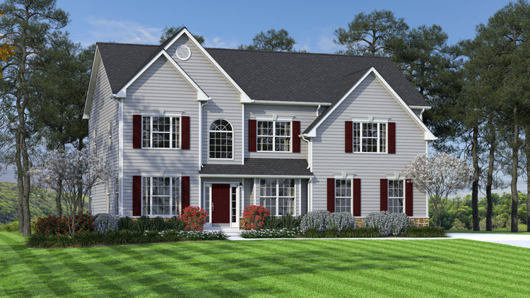 The Dynasty  3,000 sf / 4 br / 2.5 ba / 2 car garage Starting at $374,990