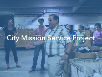 In response to several requests made by attendees of the Conversations for the Common Good, Cobblestone Church did a service project with the City Mission on August 20, 2014.