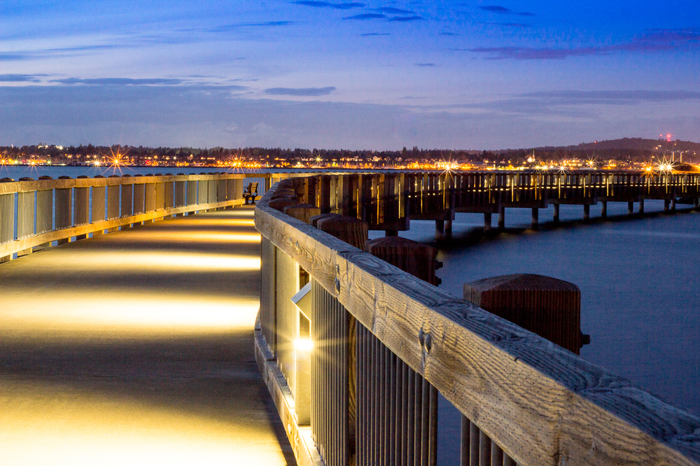 Taylor Dock at Night