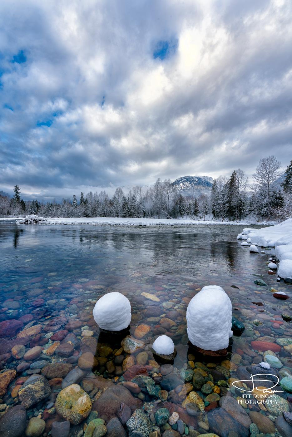Mamquam River, Squamish, BC