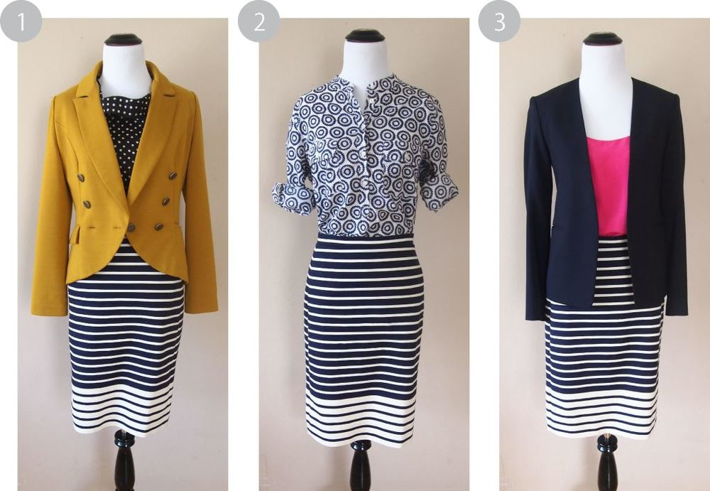 One skirt three ways