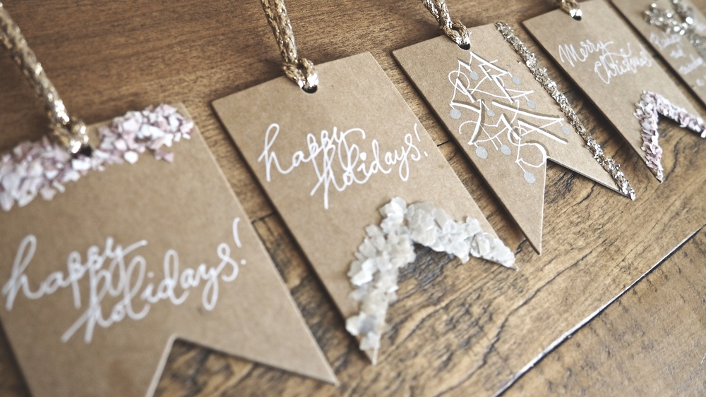 Christmas Tags DIY