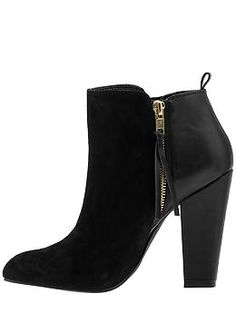 Basic Black Bootie