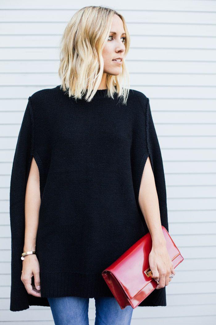 DKNY Wool Cape on Damsel in Dior