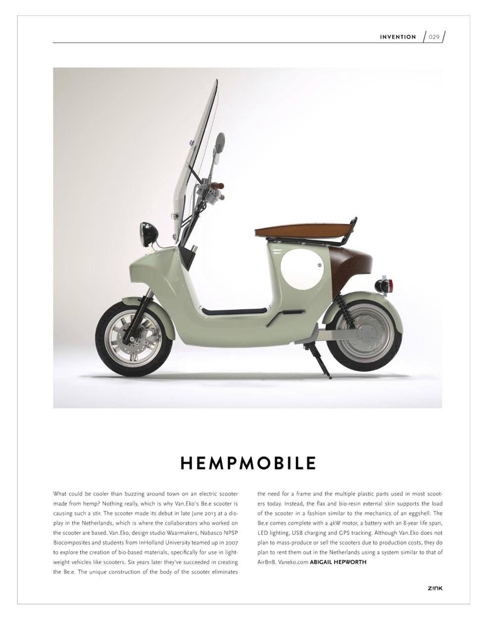 Zink Magazine Winter 2013 issue
