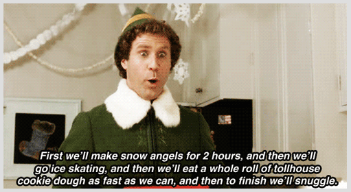 """The best way to spread Christmas cheer is sining loud for all to hear."" - Buddy the Elf"
