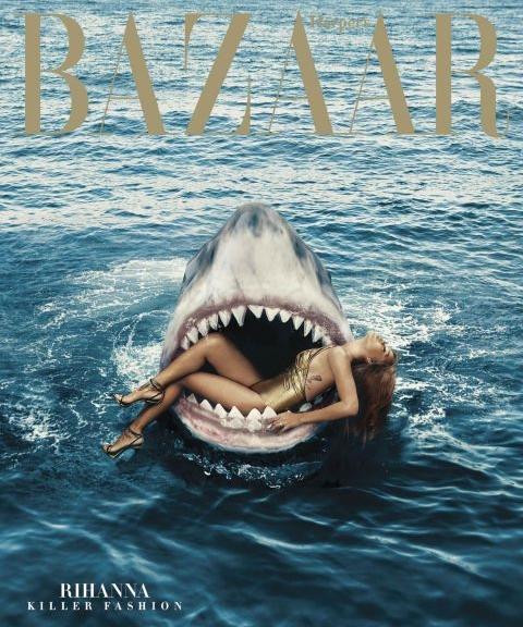 image via Harper's Bazaar
