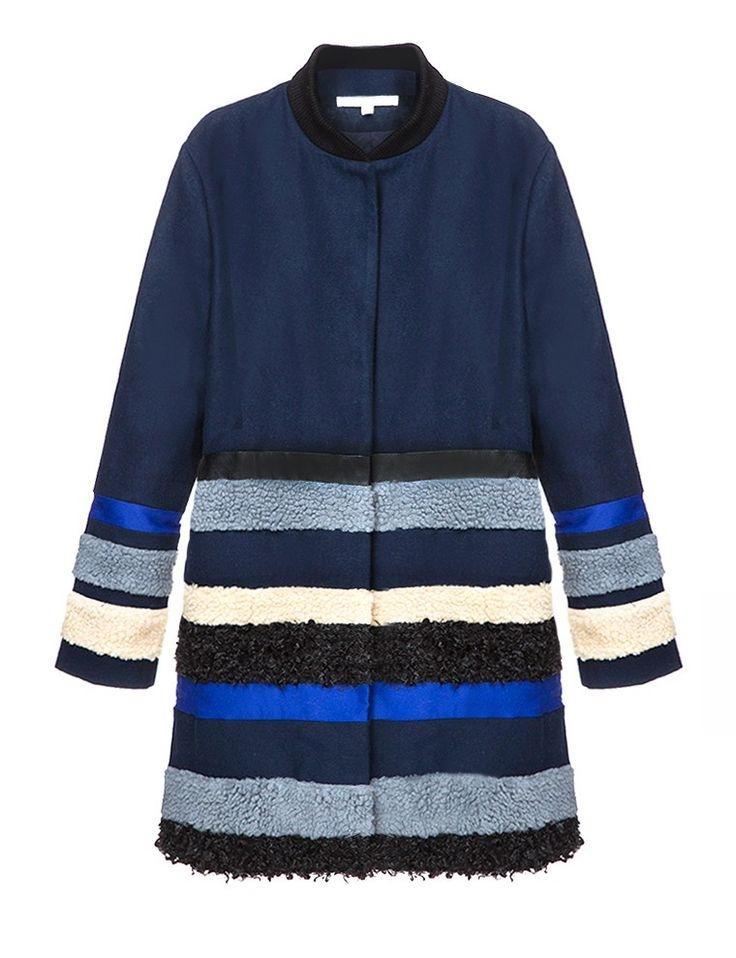 pixie market navy shearling coat.jpg