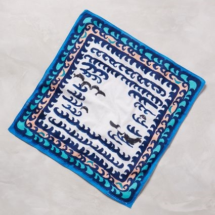 Aegean Sea Bandana // Anthropologie