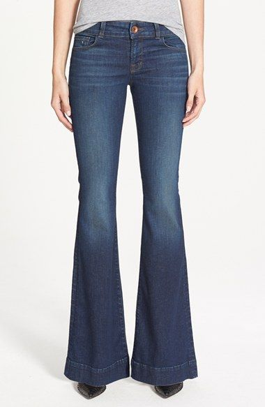 "J Brand ""Love Story"" flared jeans"