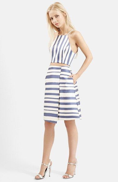 Topshop Striped Set