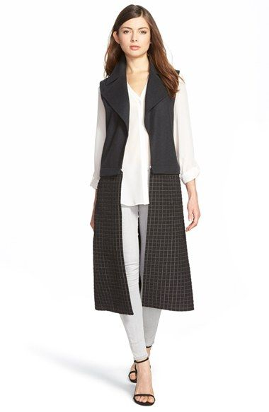 Trouve Mix Texture vest