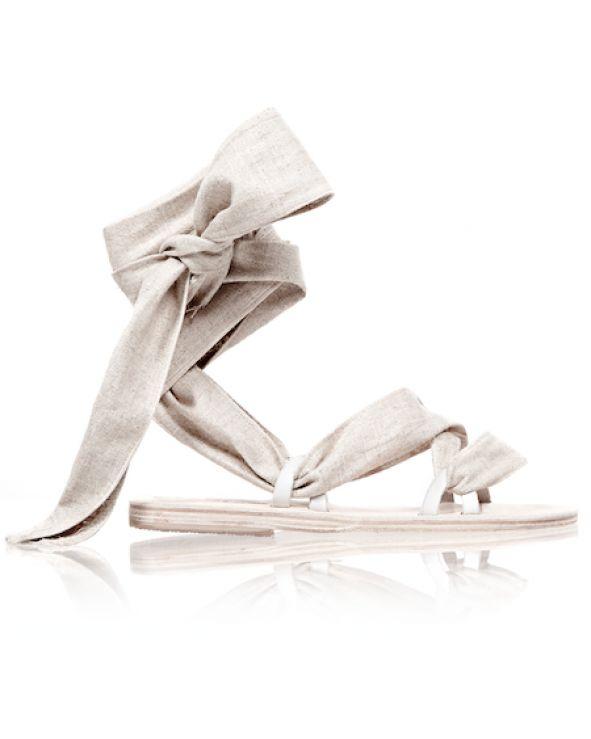 Zanzibar Linen Sandal $265