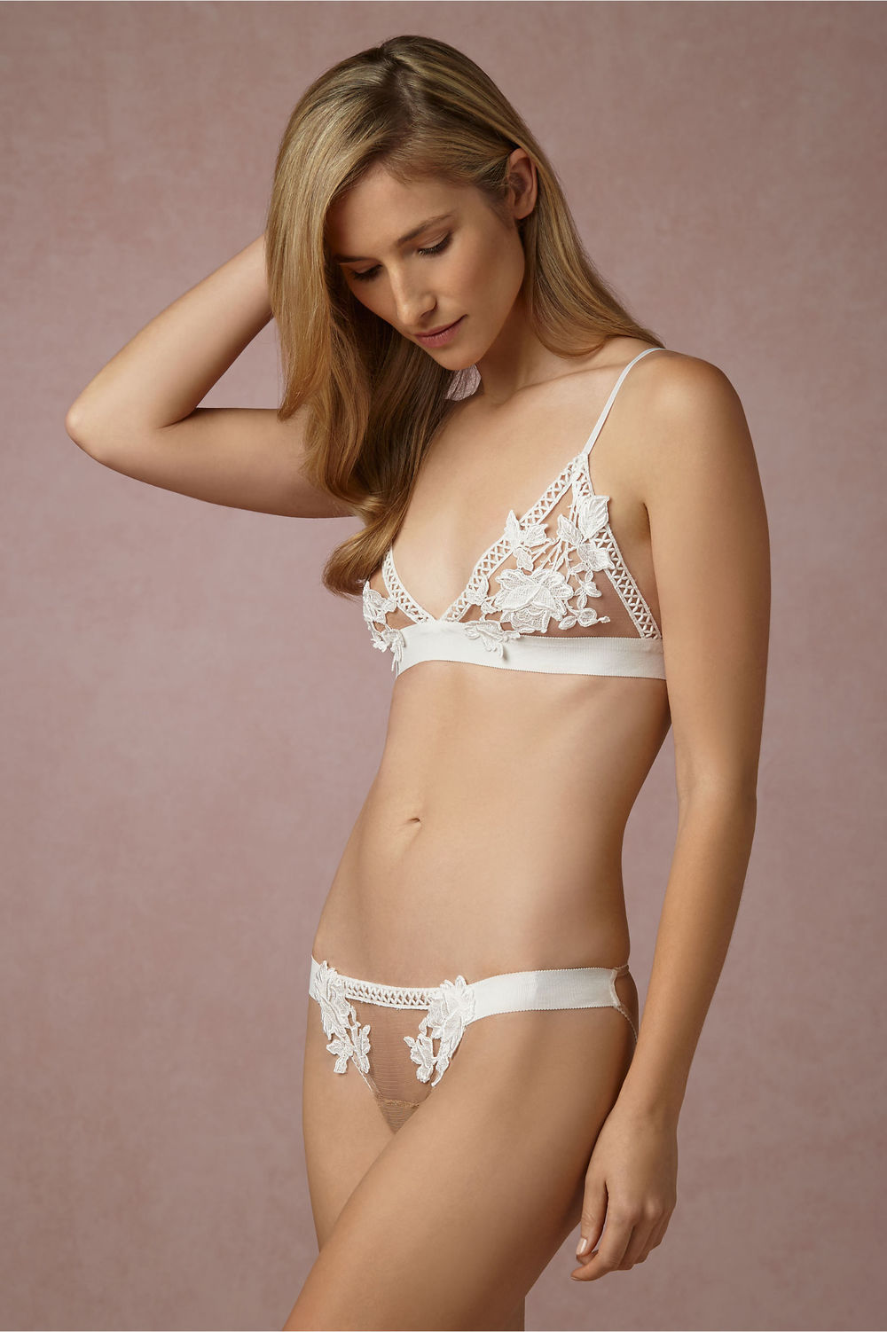 BHLDN bra $100 from $160, and panties $35 from $80