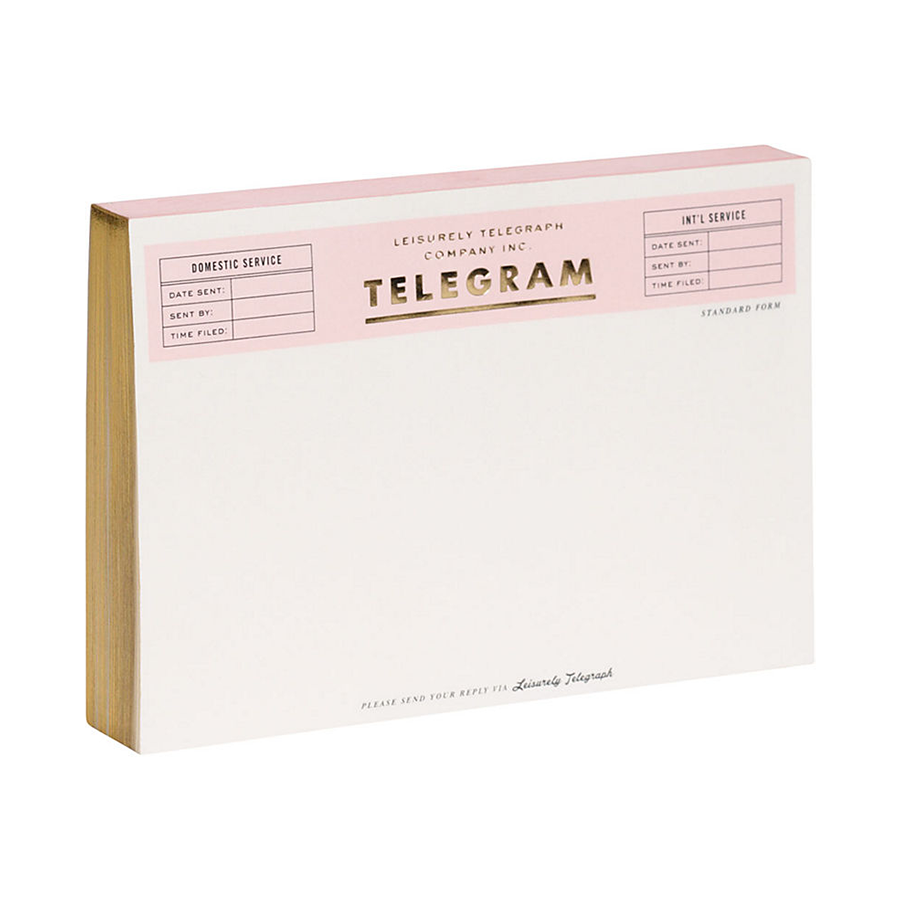 Kate Spade New York Telegram Note Pad, $13