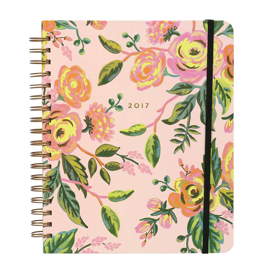 Rifle Paper Co. 17-Month Planner, $34