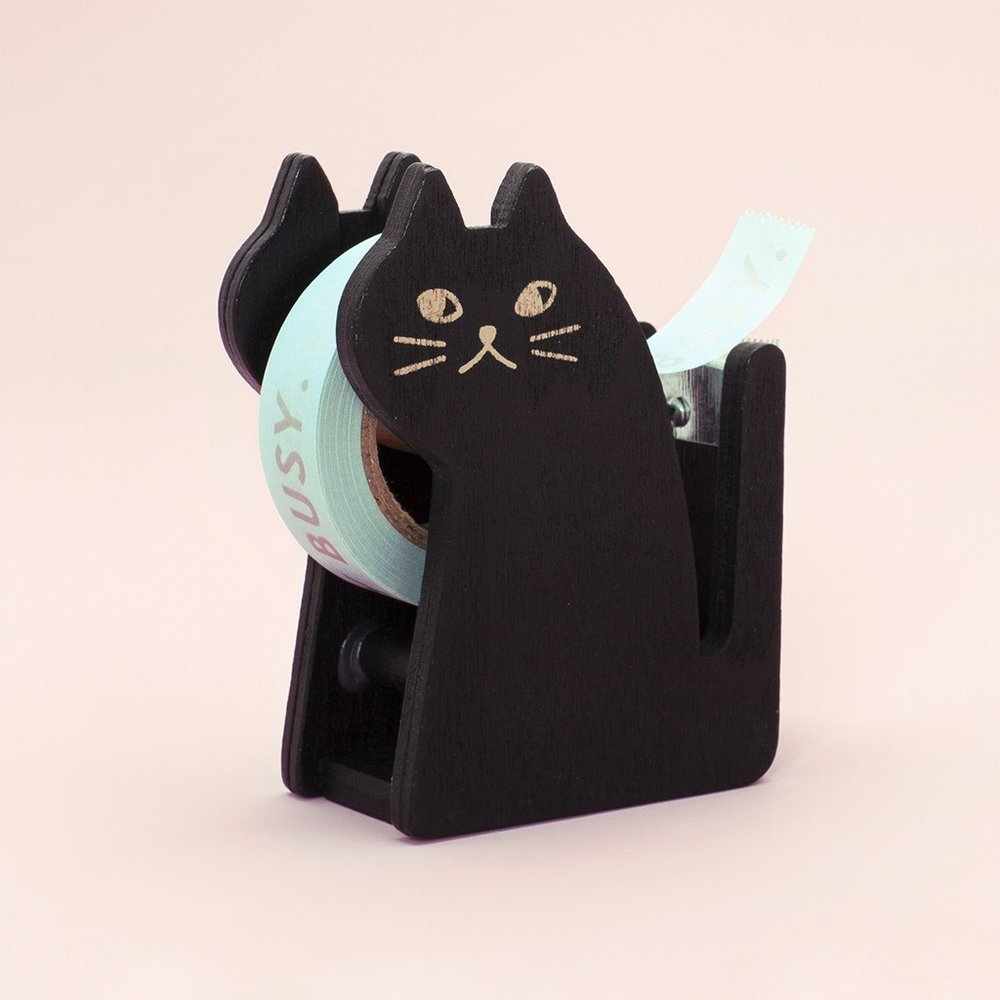 Ban.do Black Cat Tape Dispenser, $13