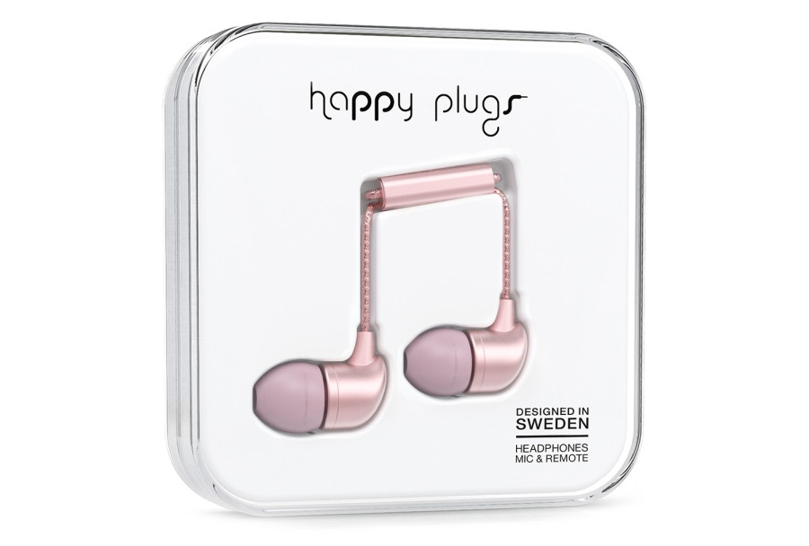 Happy Plugs Ear Buds, $35