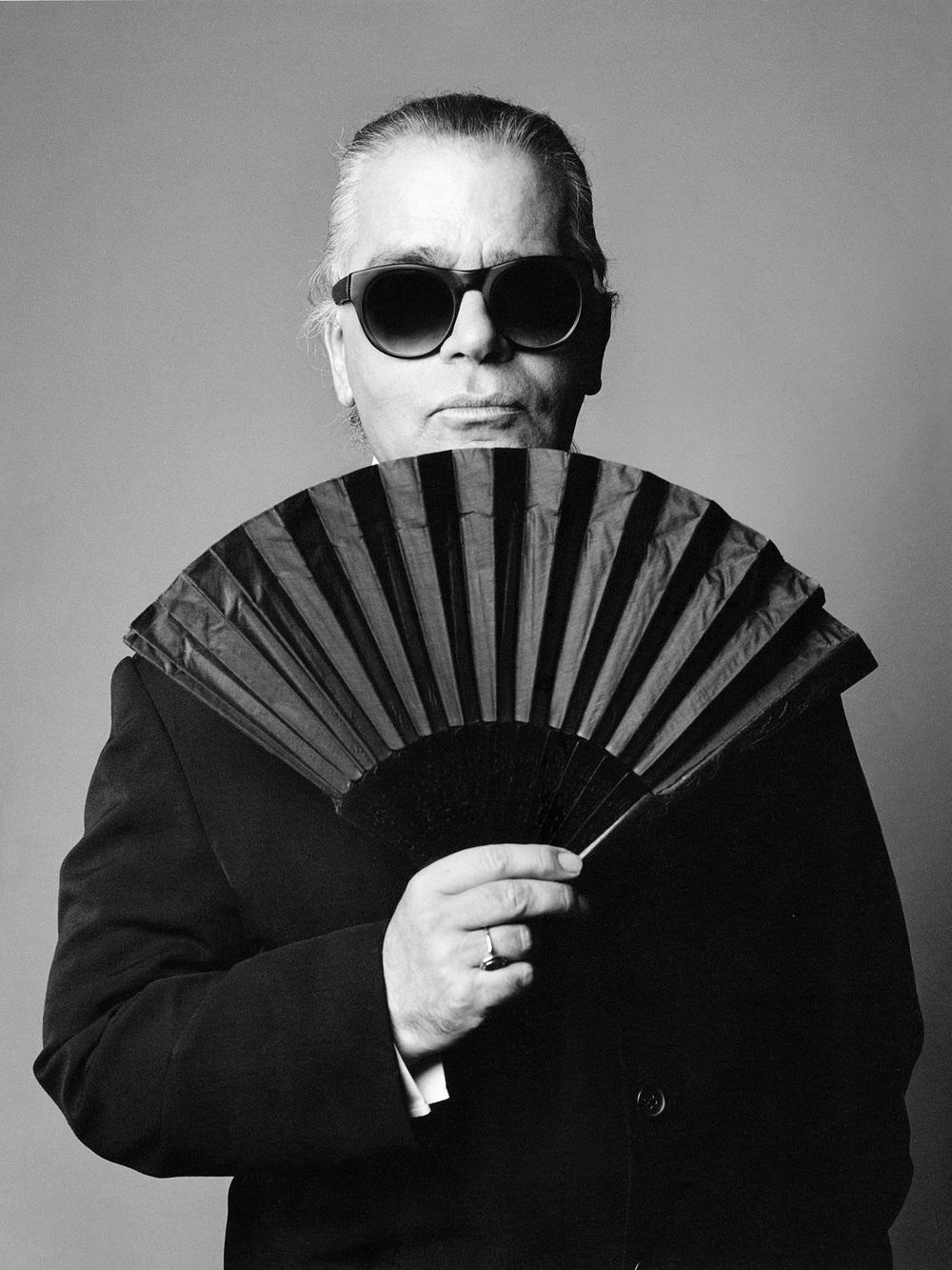 Karl Lagerfeld by Patrik Andersson
