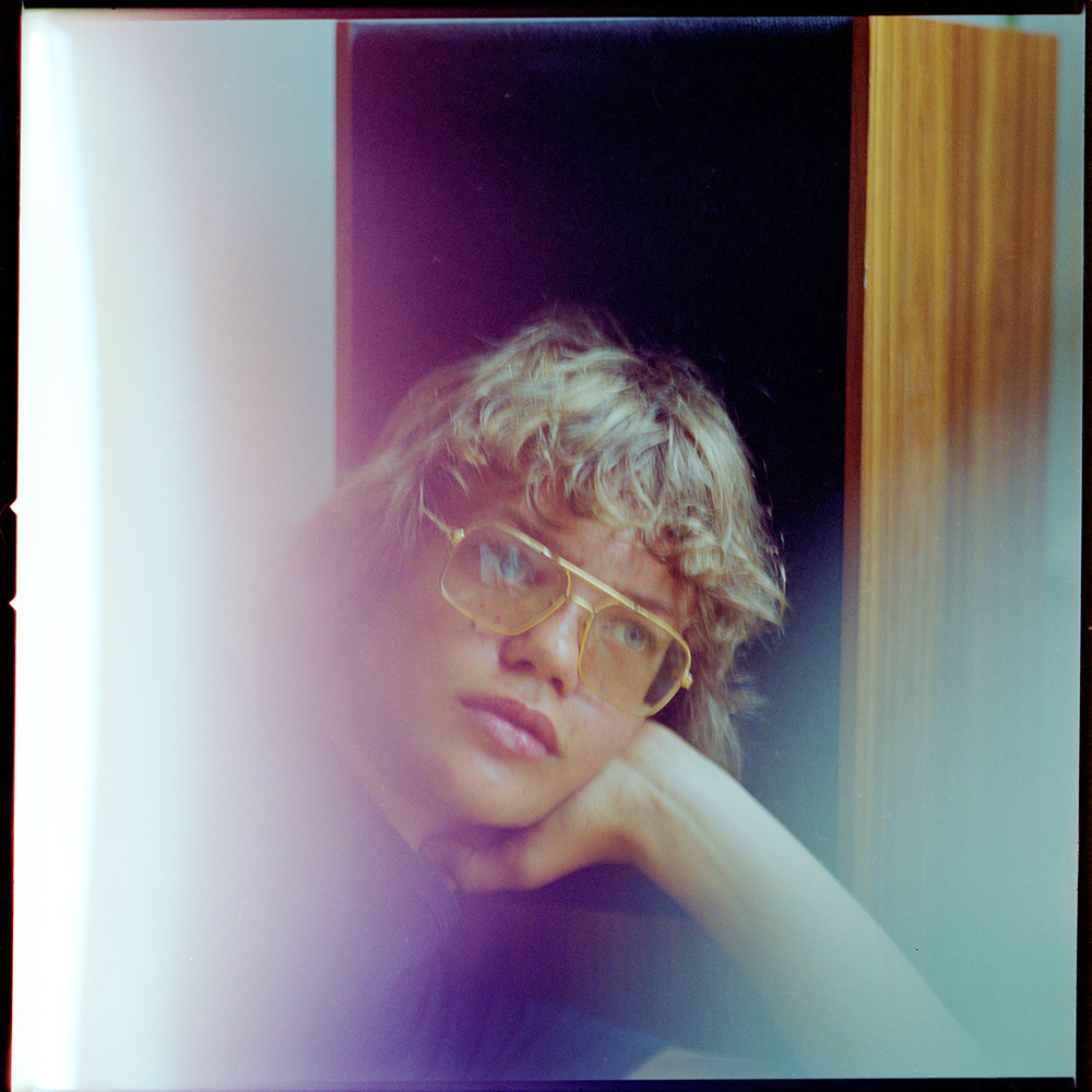 """Patrik Andersson as a teenager in Gothenburg Sweden - photographed with a camera his mother had on loan for him from the famous Victor Hasselblad factory where she worked on the """"moon camera"""""""