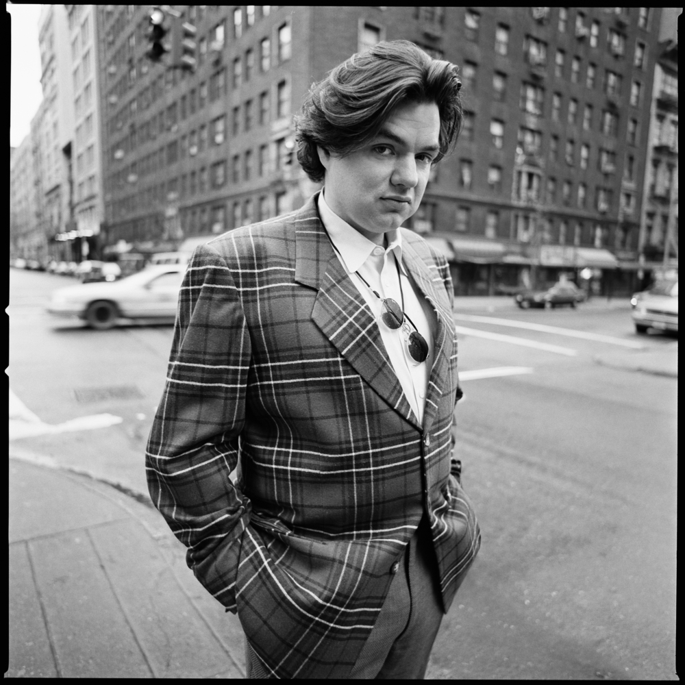 Oliver Platt photographed by Patrik Andersson on Fifth Avenue New York City