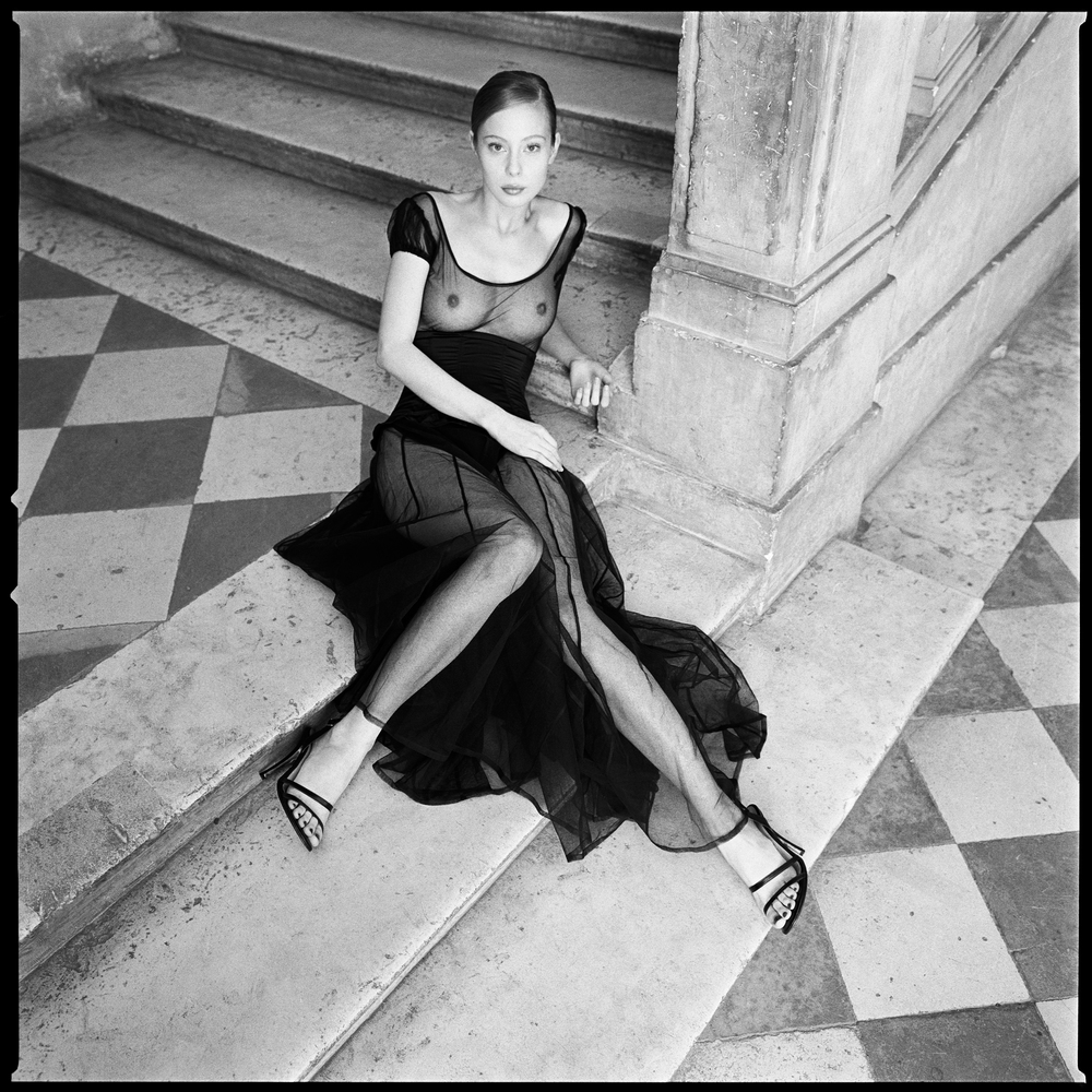 Nina Broshin a Paris castle photographed by Patrik Andersson