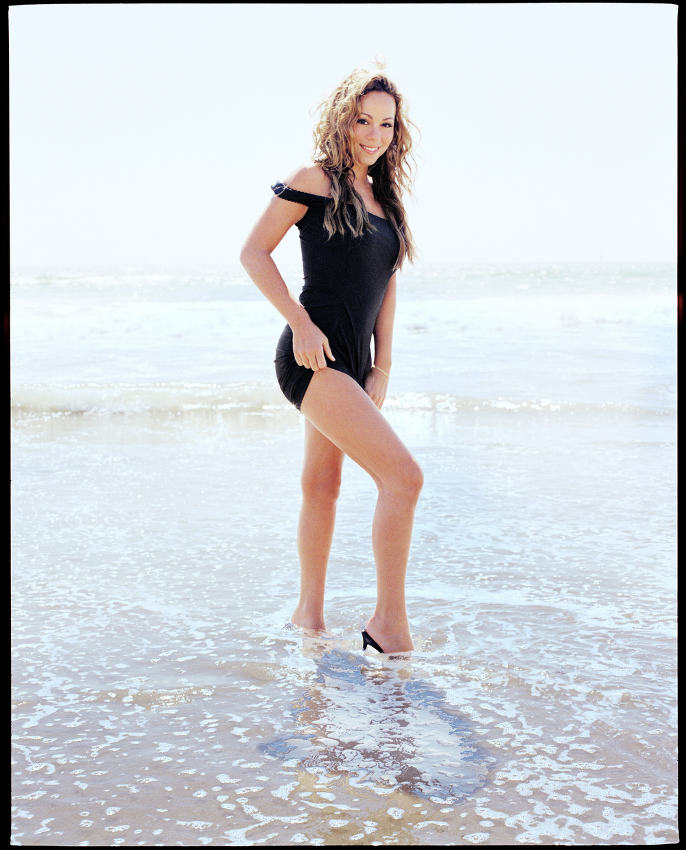 Mariah Carey in Malibu by Patrik Andersson