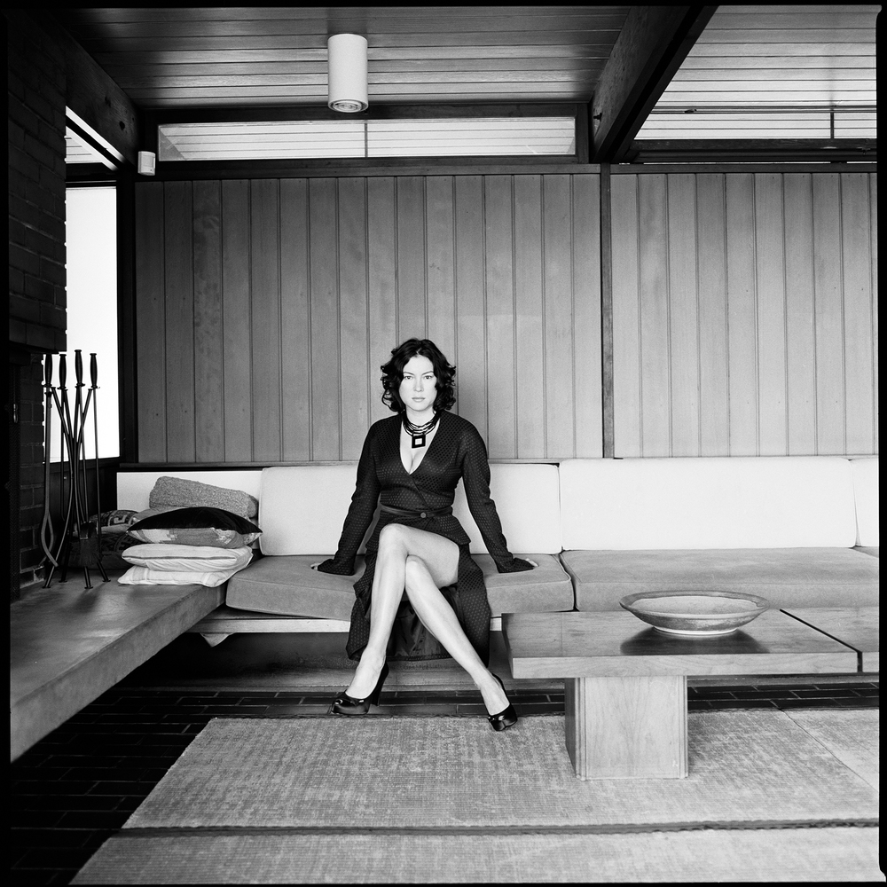 Jennifer Tilly photography by Patrik Andersson in a San Gabriel Mountain Villa