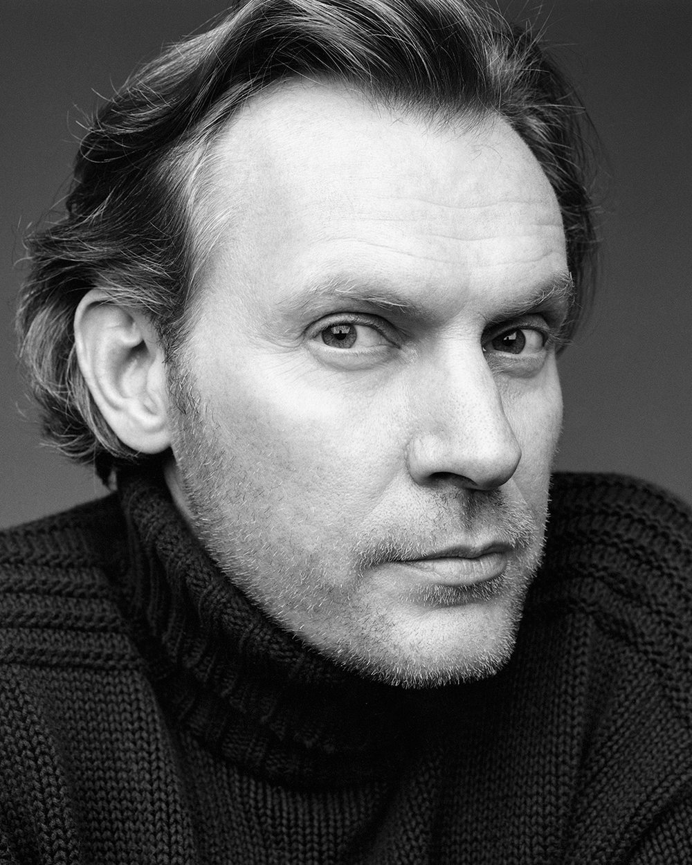 Swedish Watercolor Artist and Fashion Illustrator Mats Gustafson portrayed by Swedish Photographer and Director Patrik Andersson