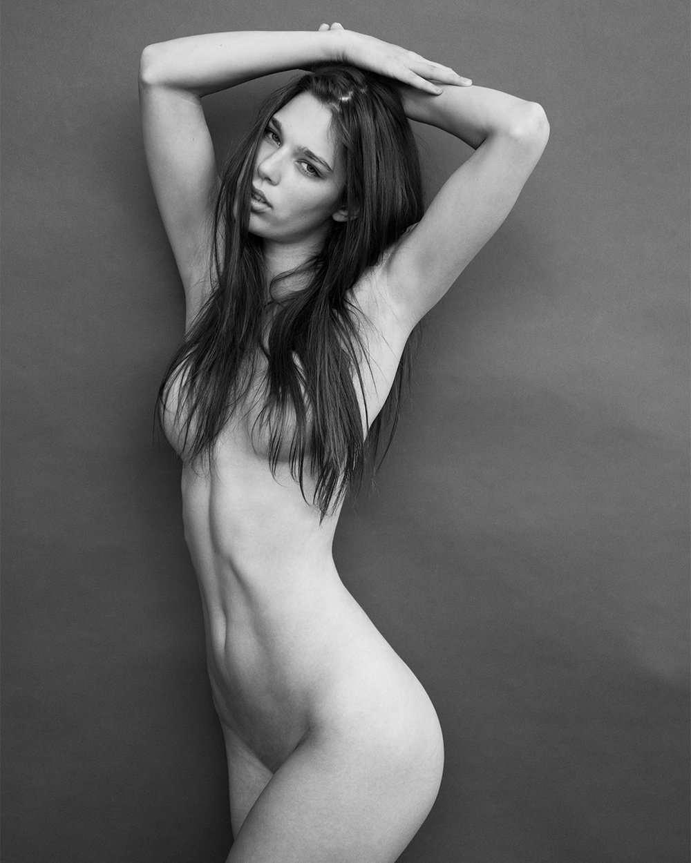 Nude of model Maye Aspen photographed in New York by Patrik Andersson