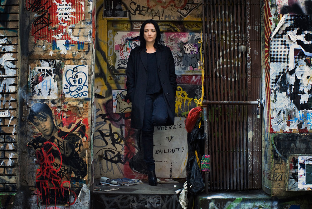 Kelly Cutrone of Peoples Revolution in Soho by Patrik Andersson