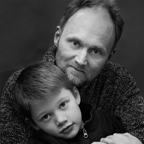 anders orrenius with son ville by patrik andersson