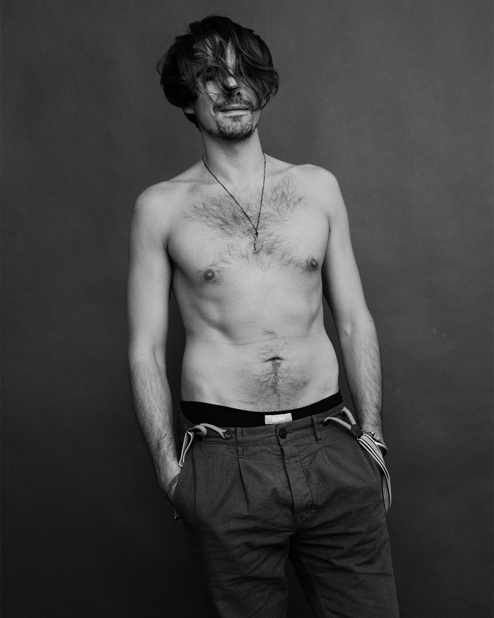 Edward Akrout photographed by Patrik Andersson in Brooklyn New York