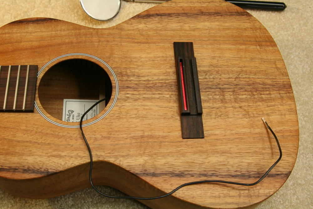 Fishman pickup installation