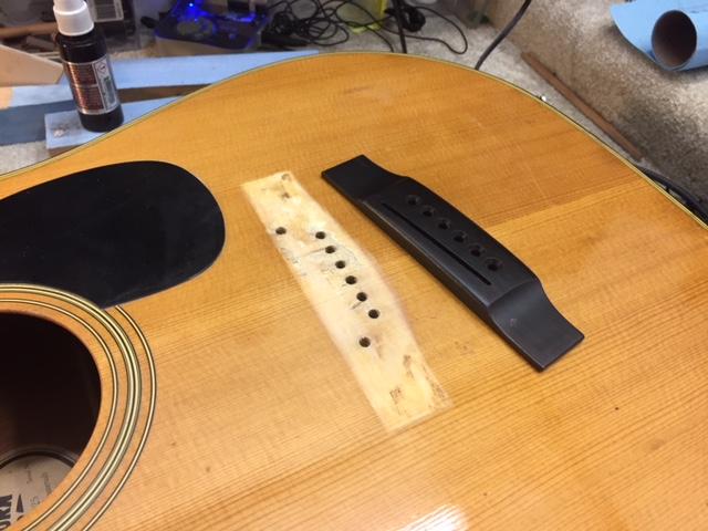 Bridge replacement Silesia Guitars
