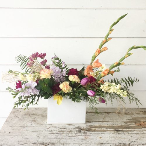 First Impressions Arrangement (Photo © Pine State Flowers)